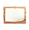 Announcement on wooden board vector | Price: 1 Credit (USD $1)
