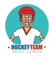 Hocket sport game vector image vector image