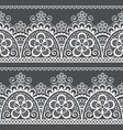 lace seamless pattern detailed retro vector image
