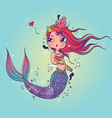 Lovely Mermaid vector image