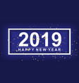 paper art and craft of 2018 happy new year vector image