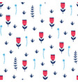 seamless natural pattern vector image
