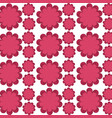 flower delicate seamless pattern design vector image