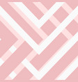 abstract pink white pattern design image vector image