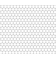 Double honeycomb seamless pattern vector image vector image