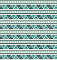 geometry pattern triangle seamless ornament vector image vector image