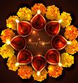 Hindu festival background of diwali