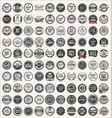 Mega collection retro vintage badges and labels