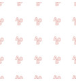 abc icon pattern seamless white background vector image vector image