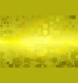 golden yellow khaki glowing various tiles vector image