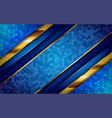 luxurious premium blue abstract background vector image vector image