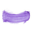 purple abstract watercolor isolated on white vector image vector image