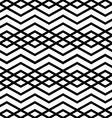 Symmetric monochrome textile endless pattern with vector image