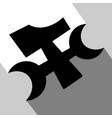 tool symbol vector image vector image