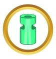 trash ashtray icon