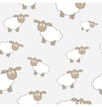 Abstract lamb seamless pattern background vector image