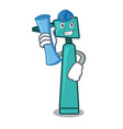 architect otoscope character cartoon style vector image