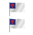 Christian Flag vector image vector image