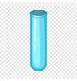 empty beaker icon cartoon style