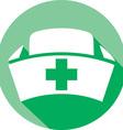 Nurse Hat Icon vector image vector image