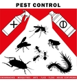 pest control vector image vector image