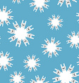 Rock and roll winter seamless pattern Background vector image vector image