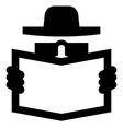 Spy icon vector image vector image
