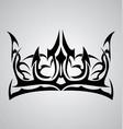 tribal crown vector image