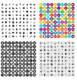 100 coffee icons set variant vector image vector image