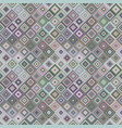 abstract diagonal square mosaic pattern background vector image vector image