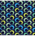 Abstract seamless pattern with circles vector image vector image