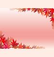 autumn leaf frame 5 vector image vector image