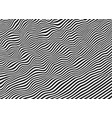 black strips line abstract background vector image