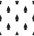 boxing robe icon in black style isolated on white vector image vector image