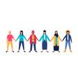 diversity woman vector image vector image