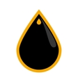 Drop icon Oil industry concept graphic vector image