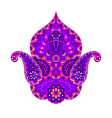 indian ethnic ornamental decorative element vector image