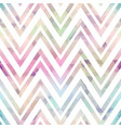 pastel color zigzag seamless pattern vector image vector image