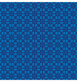 retro navy blue seamless pattern eps10 vector image