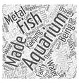 aquarium acrylic care kit Word Cloud Concept vector image vector image