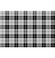 blackberry clan tartan diagonal black white vector image vector image