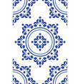 blue tile pattern vector image