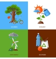 Ecology design concept vector image