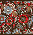 ethnic paisley pattern with buta motifs and vector image vector image