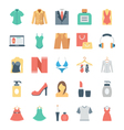 Fashion and Clothes Icons 5 vector image