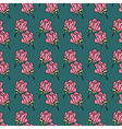 Rose seamless PATTERN1 vector image vector image