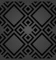 seamless abstract dark pattern vector image