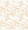 seamless pattern background with brown vector image vector image