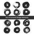 Set of Circle Shapes vector image vector image