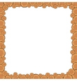 Tree Rings Frame vector image vector image